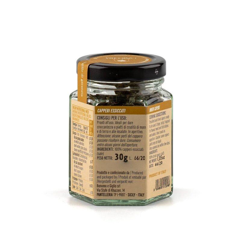 ingredienti capperi croccanti di pantelleria