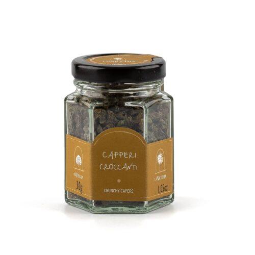 capperi croccanti di pantelleria
