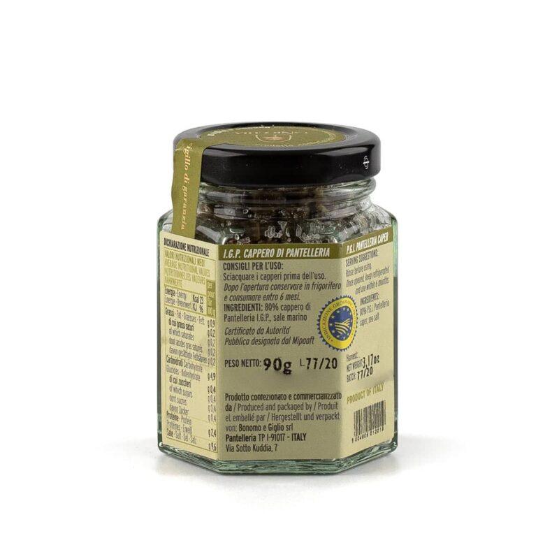 ingredienti capperi di pantelleria igp