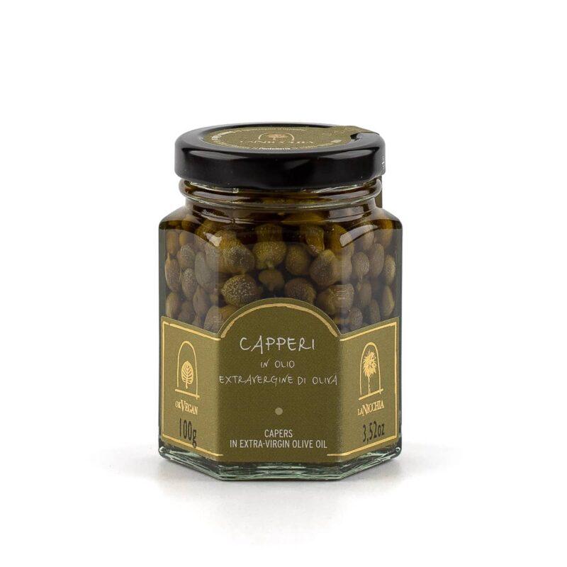 capperi di pantelleria in olio extravergine di oliva