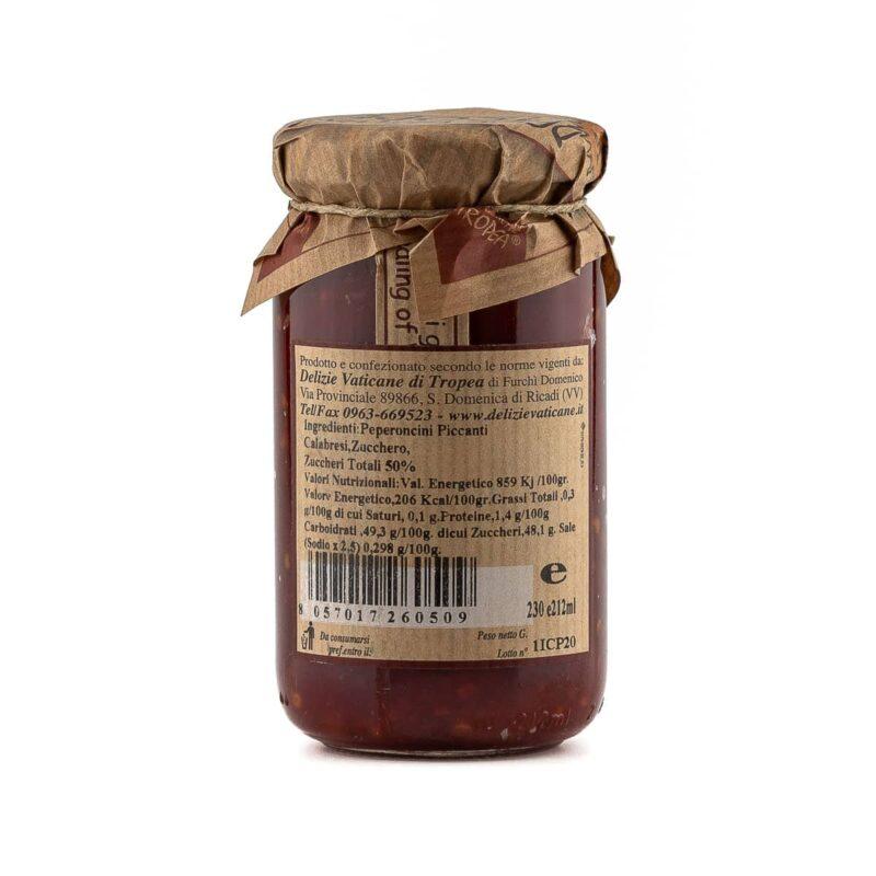 ingredienti confettura al peperoncino