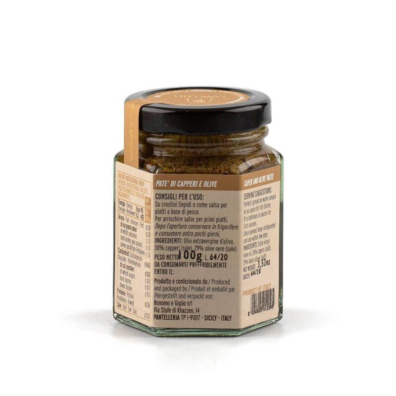 ingredienti pate capperi e olive