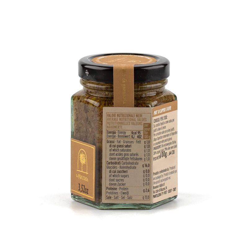 dettagli pate capperi e olive