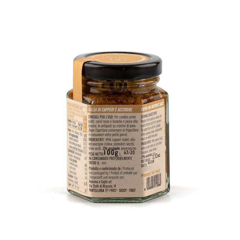 ingredienti salsa capperi e acciughe