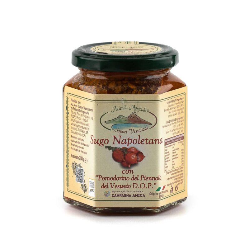 sugo napoletana di pomodorini del piennolo del vesuvio