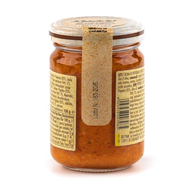 informazioni crema di peperoni e tartufo
