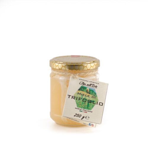 Clover Honey etichetta