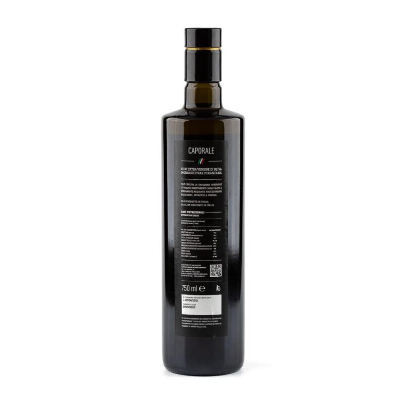 Olio Extravergine Caporale Peranzana 750 Retro
