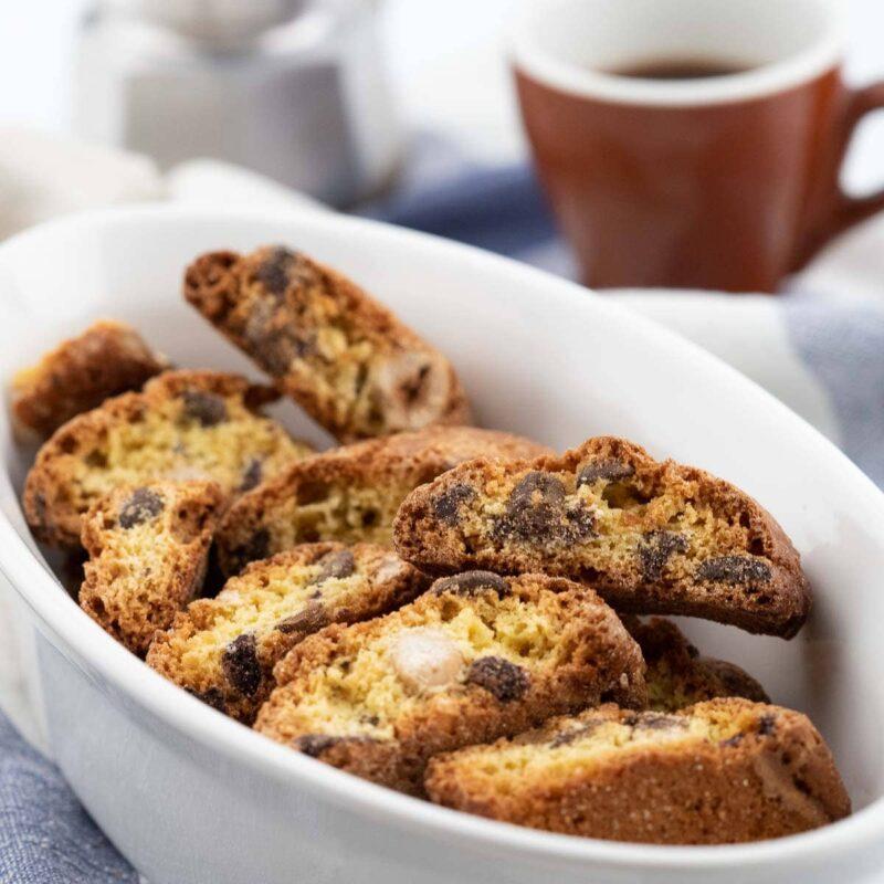 Cantucci toscani con chicchi di caffè di Sant'Eustachio ambient
