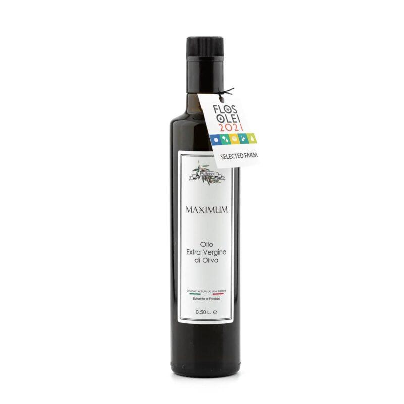 Bottiglia olio extravergine di oliva Maximum
