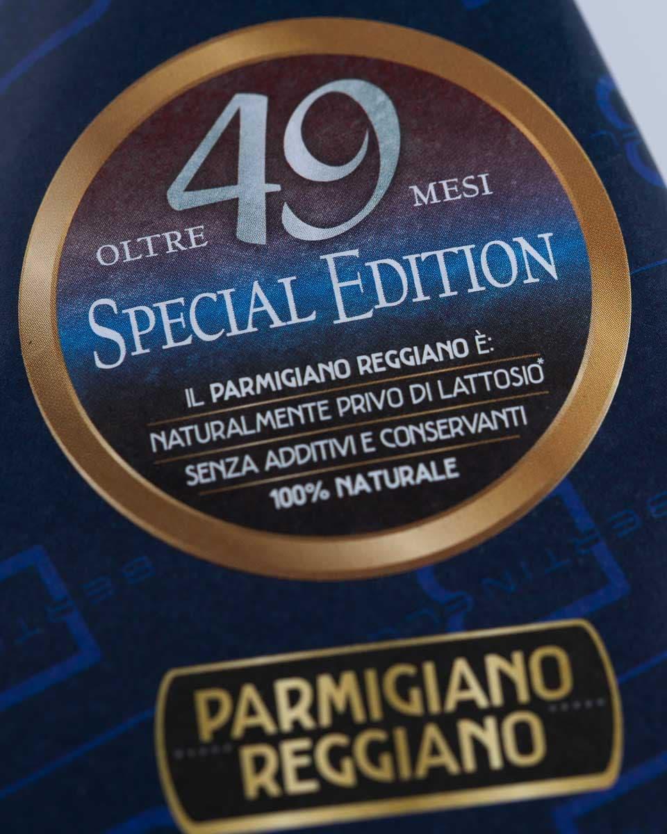 Parmigiano Reggiano 49 Mesi Bertinelli Macro