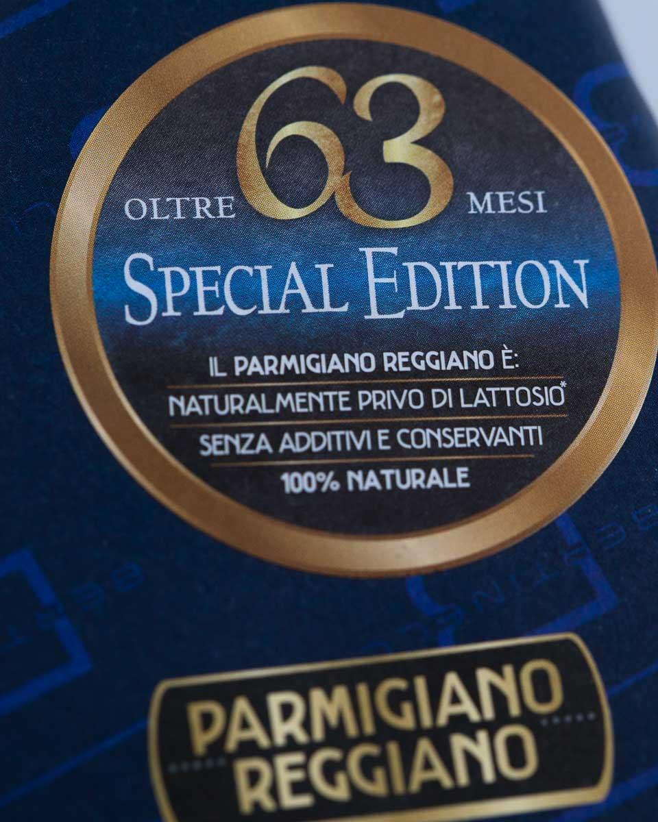 Parmigiano Reggiano 63 Mesi Special Edition Bertinelli