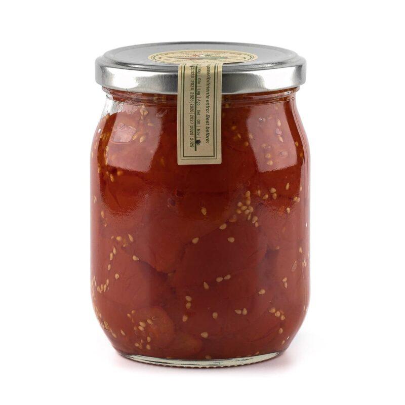 Pomodorini del piennolo del Vesuvio DOP a Pacchetella